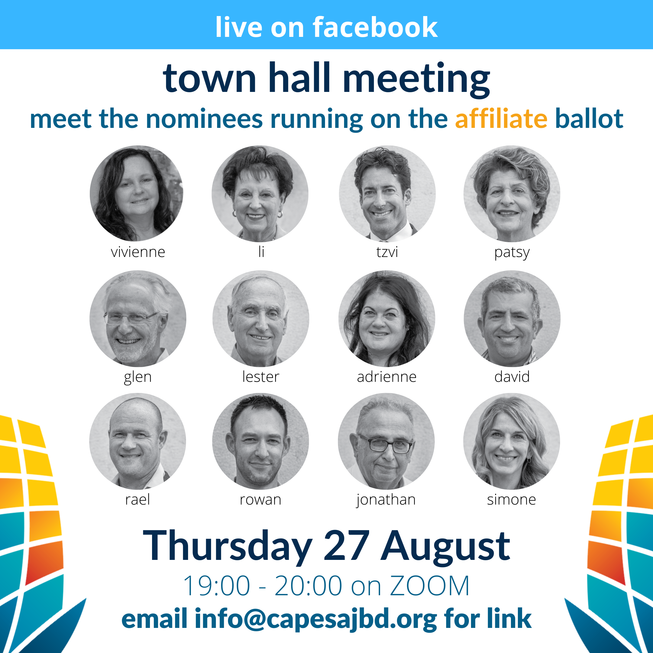 Affiliate Ballot – Town Hall Meeting