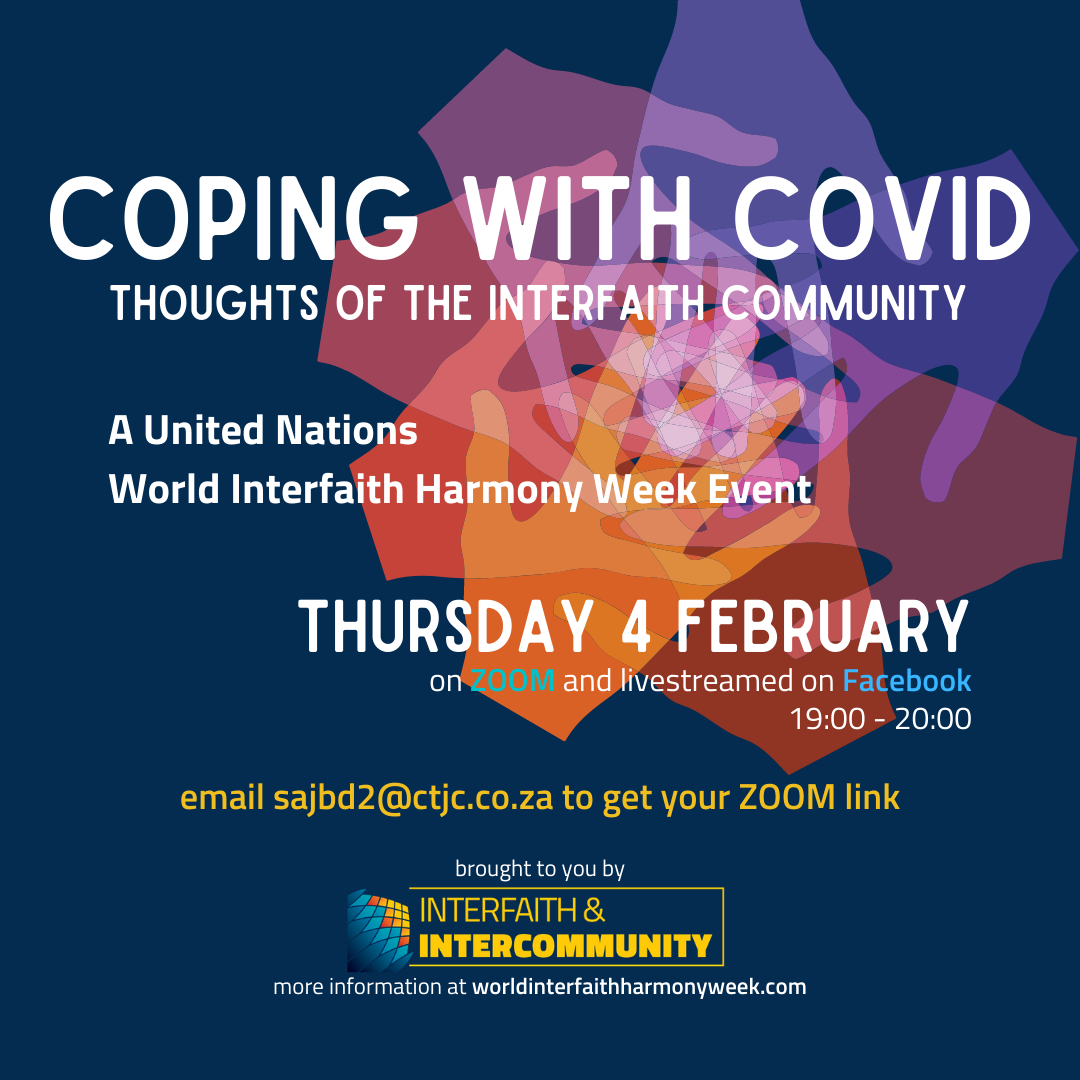 Coping with COVID: Thoughts of the Interfaith Community