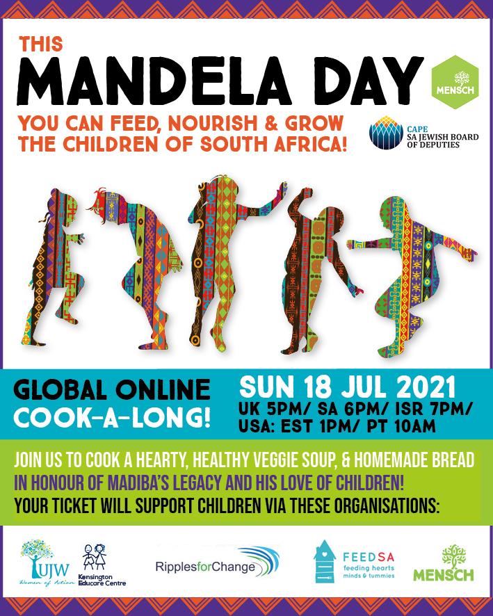 Mandela Day 2021 Make and Donate Cook-A-Long